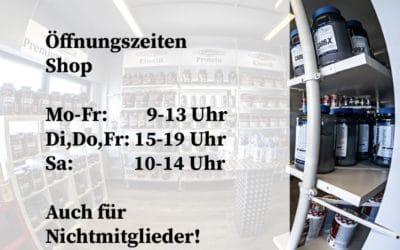 Kraftwerk Shop | Öffnungszeiten